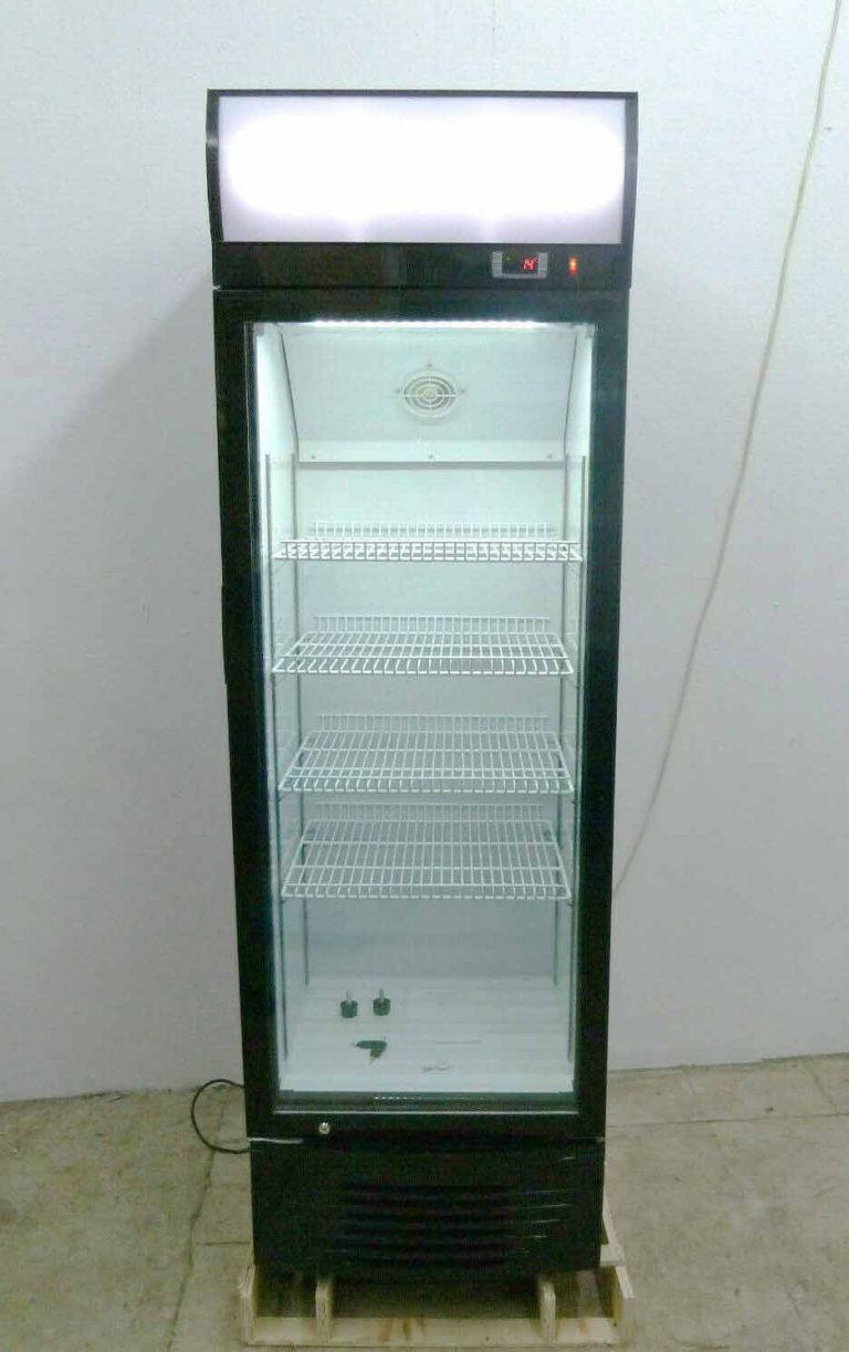 Glaskühlschrank